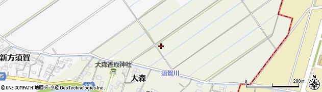 埼玉県さいたま市岩槻区大森周辺の地図