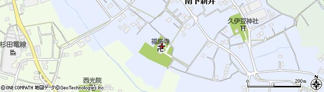 福厳寺周辺の地図