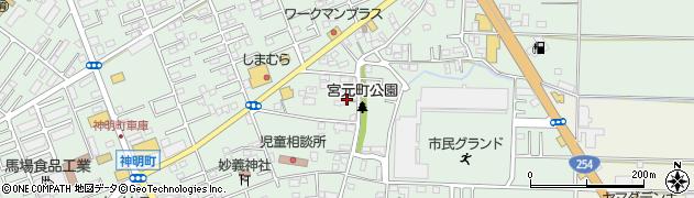 埼玉県川越市宮元町周辺の地図