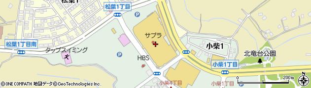 ハローズガーデン周辺の地図