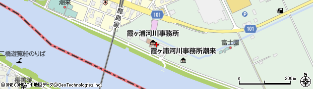 関東地方整備局 霞ケ浦河川事務所工務課周辺の地図