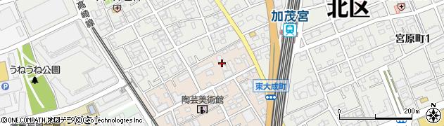 ライオンズマンション周辺の地図
