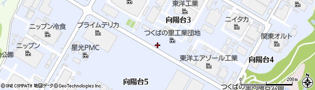 茨城県龍ケ崎市向陽台周辺の地図