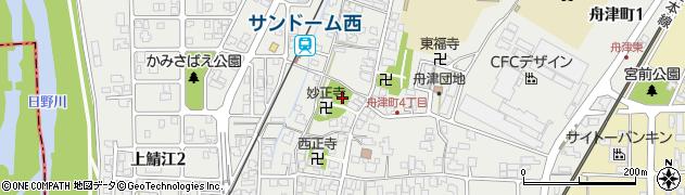 番神宮周辺の地図