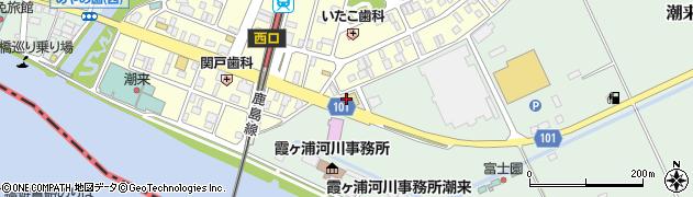 スクールIE潮来校周辺の地図
