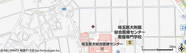 埼玉県川越市鴨田周辺の地図