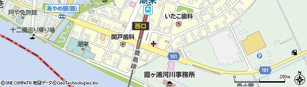 潮来エンジニアリング周辺の地図
