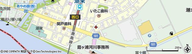 タカシフォート周辺の地図