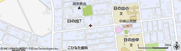 マミークリーニング日の出店周辺の地図