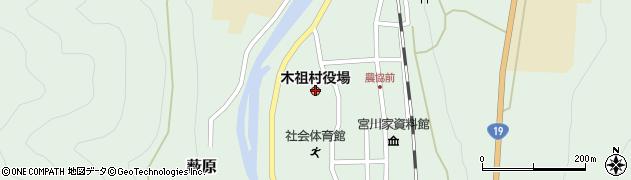 長野県木祖村(木曽郡)周辺の地図