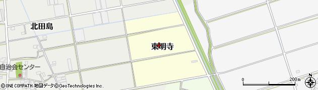 埼玉県川越市東明寺周辺の地図
