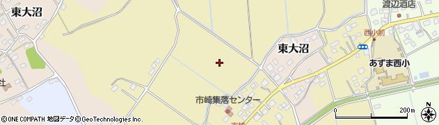 茨城県稲敷市市崎周辺の地図