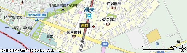 兼原測量設計株式会社周辺の地図