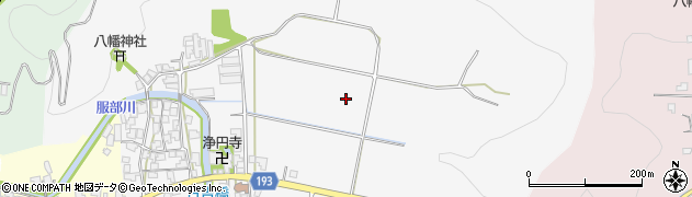 福井県越前市東庄境町周辺の地図