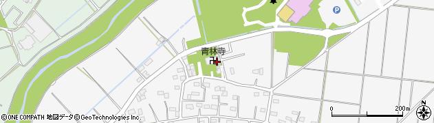 青林寺周辺の地図