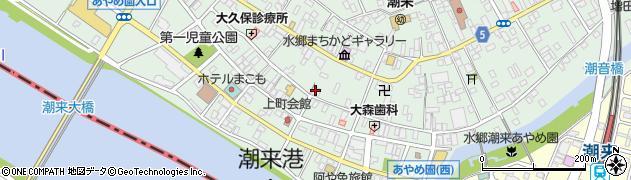 いいじま化粧品周辺の地図