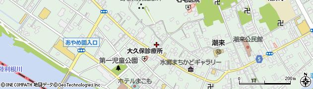 堀井清香茶道華道教室周辺の地図