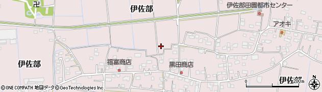 茨城県稲敷市伊佐部周辺の地図