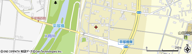 埼玉県川越市寺山周辺の地図