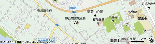 潮音院周辺の地図