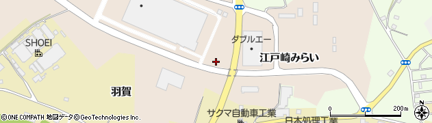 茨城県稲敷市江戸崎みらい周辺の地図