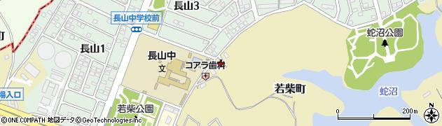 オリエンタル治療院周辺の地図