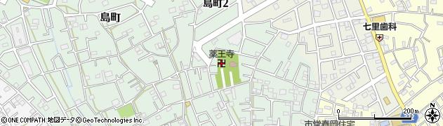 島町薬王寺周辺の地図