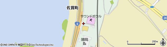 茨城県龍ケ崎市庄兵衛新田町周辺の地図