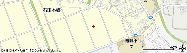 埼玉県川越市石田本郷周辺の地図