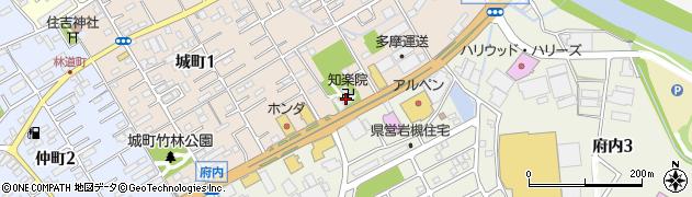 知楽院周辺の地図