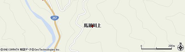 岐阜県下呂市馬瀬川上周辺の地図