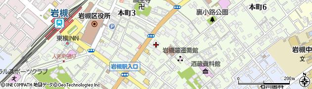埼玉県さいたま市岩槻区本町周辺の地図