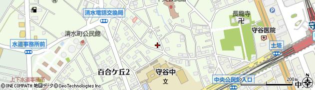 スタジアム周辺の地図