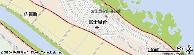 茨城県つくば市富士見台周辺の地図