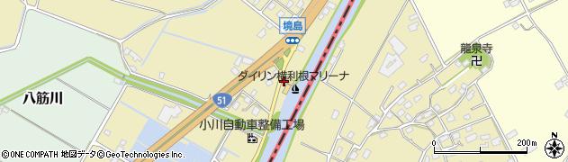 田子商店周辺の地図