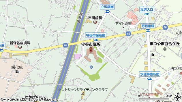 〒302-0100 茨城県守谷市(以下に掲載がない場合)の地図