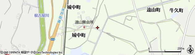 茨城県牛久市遠山町周辺の地図