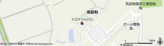 株式会社トロナジャパン 関東工場周辺の地図
