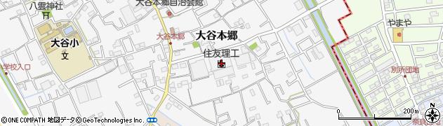埼玉県上尾市大谷本郷255周辺の地図