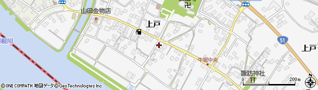 萩原石材店周辺の地図