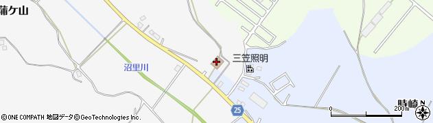 江戸崎町沼里コミュニティセンター周辺の地図