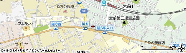 潮来仏壇センター周辺の地図