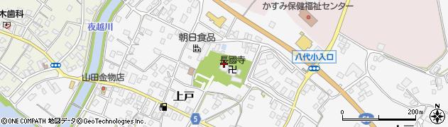 長國寺周辺の地図