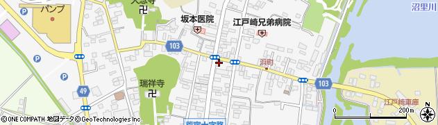 モリナガ洋品店周辺の地図