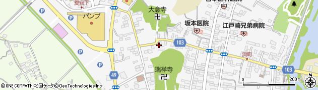 飯野屋旅館周辺の地図