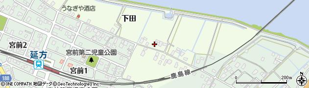 潮来水産株式会社周辺の地図