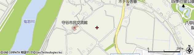 茨城県守谷市大木周辺の地図