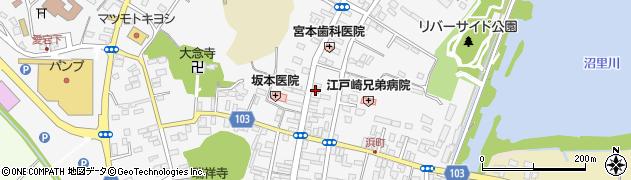 ラヴワーズ周辺の地図