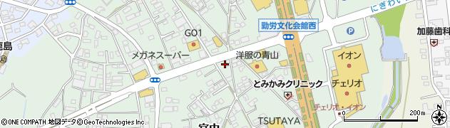 不二家 洋菓子鹿島店周辺の地図