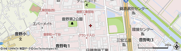 埼玉県春日部市豊野町の地図 住所一覧検索|地図マピオン